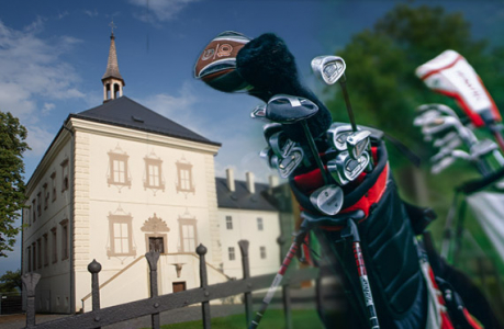 Golf with accommodation at the chateu