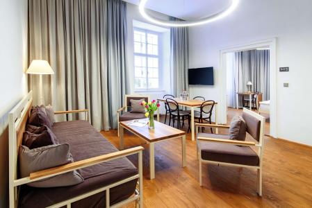 Čtyřlůžkové apartmá Deluxe